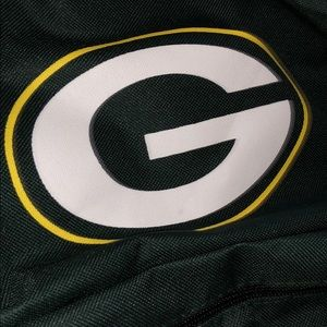 Green Bay Packers Bags - 2 pocket Green Bay Packers backpack